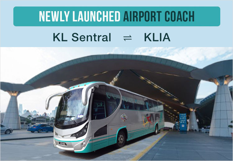 KL Sentral ⇄ KLIA is operated by Airport Coach