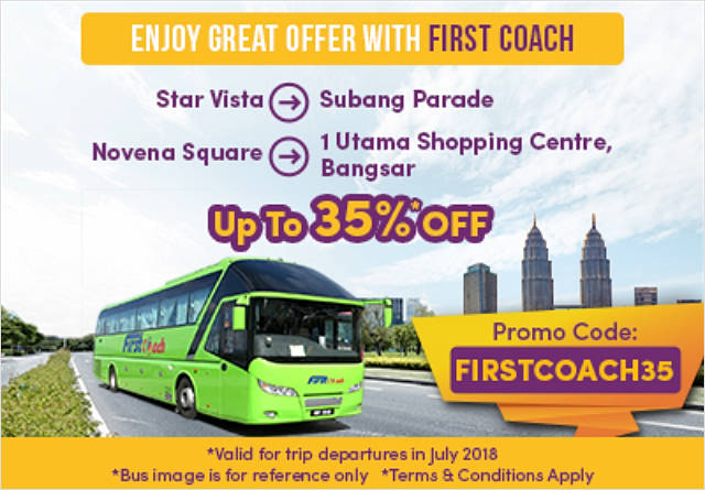 35% off First Coach bus tickets