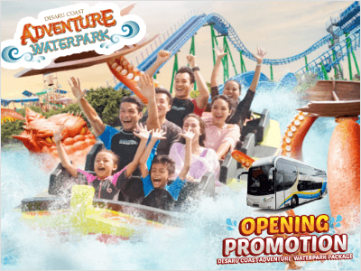Desaru Coast Adventure Waterpark Combo Package Promotion by WTS Travel