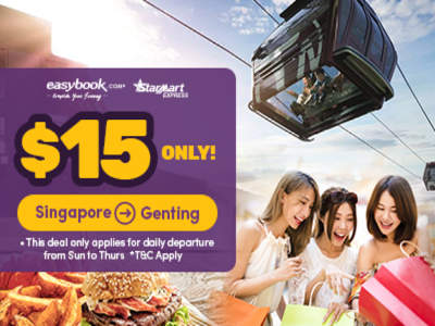 Cheap Bus Ticket from Singapore to Genting
