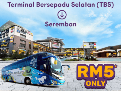 RM5 Bus from TBS to Seremban