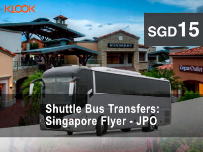 Shuttle Bus Transfers between Singapore and Johor Premium Outlets