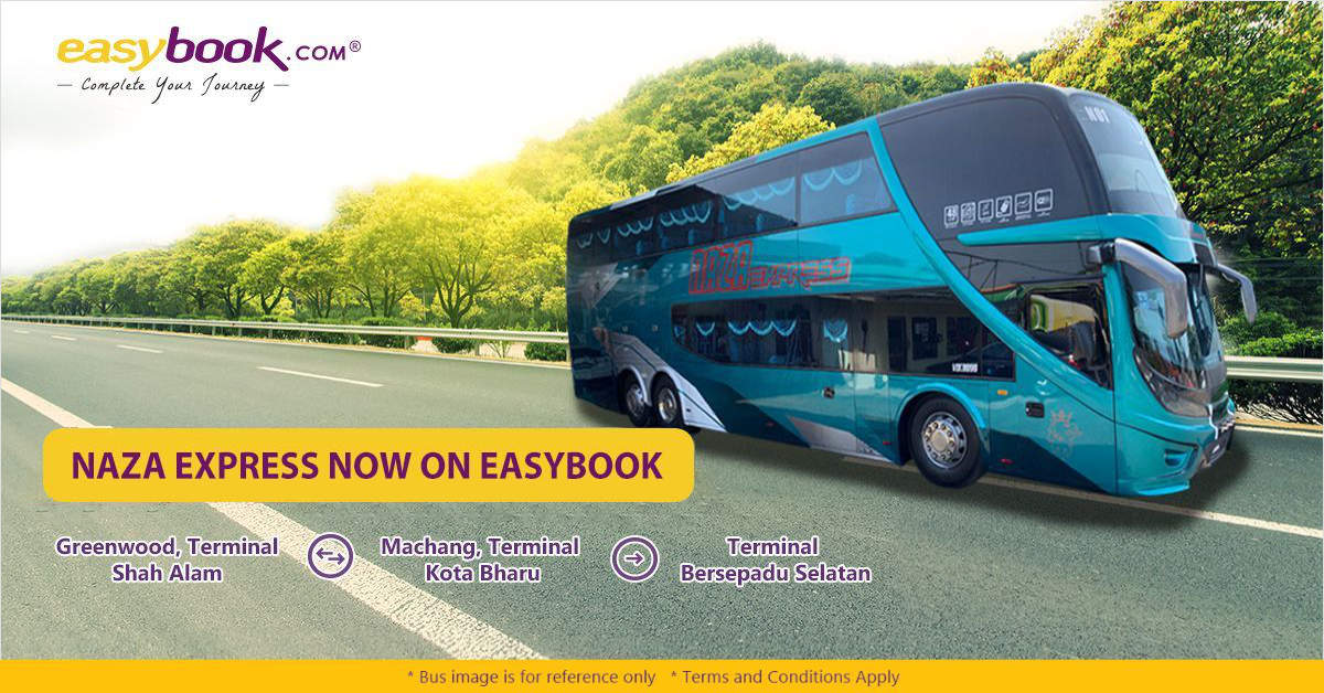 Naza Express Bus Tickets Available Online at Easybook