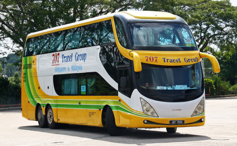 707 Double Decker Bus - 707 Travel Group