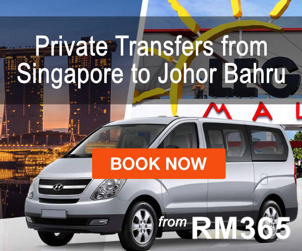 Private Transfers from Singapore to Johor Bahru