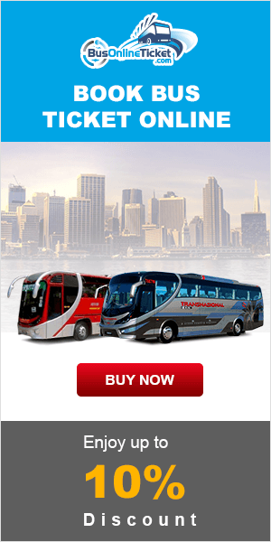 Book Bus Ticket Online Enjoy up to 10% Discount
