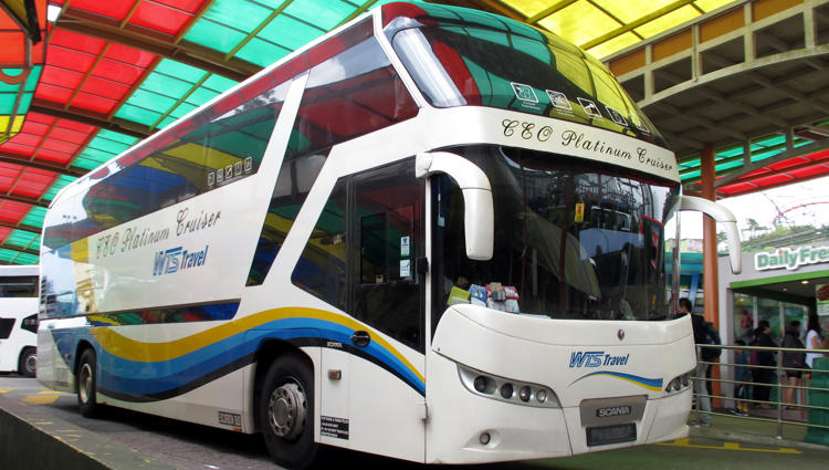 WTS Travel express bus to Genting Highlands - flic.kr/p/wUbegv