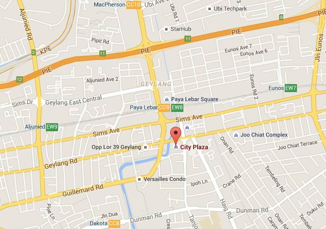 City Plaza location map