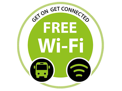 Free WiFi Access on Grassland Express