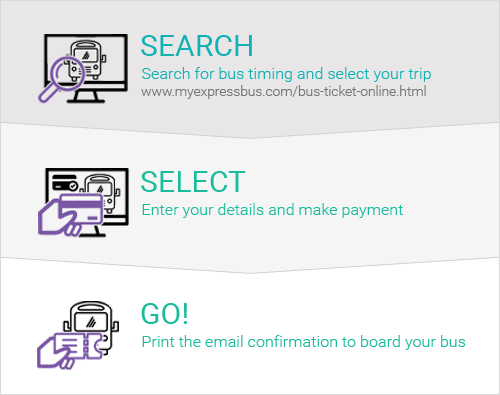 3 Steps to Book Bus Tickets Online