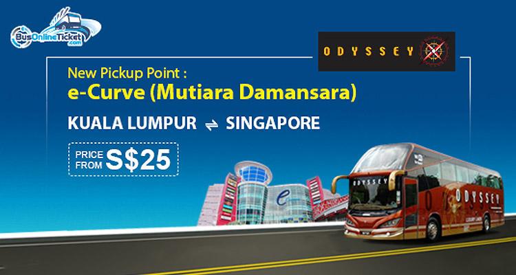 Odyssey prestige coach moved to e curve at mutiara damansara - Singapore airlines kuala lumpur office ...