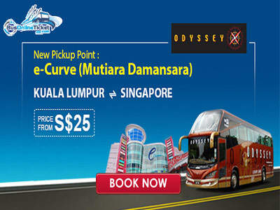 Odyssey Prestige Coach moved to E-Curve at Mutiara Damansara