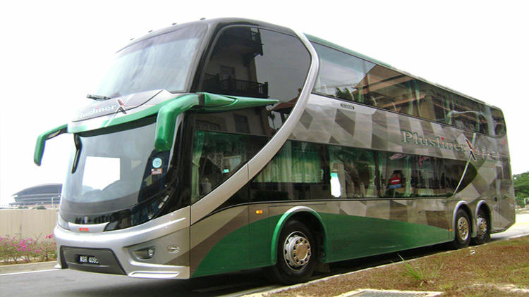 Plusliner double decker bus