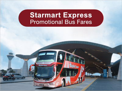 Starmart Express Promo Fares from Singapore to KL, Genting…